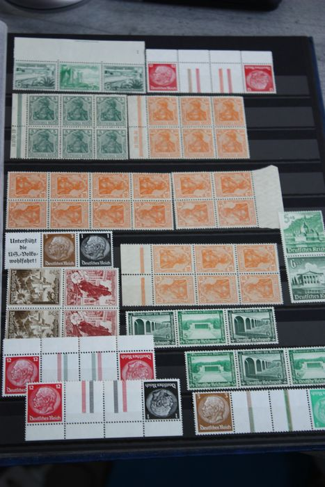 Impero tedesco - Batch of compiled stamps, MNH