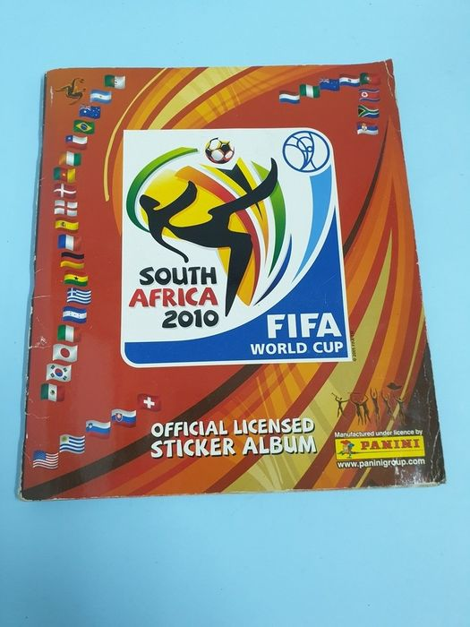 Panini - World Cup South Africa 2010 - Album complet