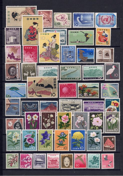 Japon - Marvellous collection, exclusively MNH - Yvert