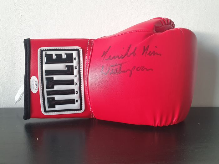 Boxeo - Tim Witherspoon - Guante de boxeo