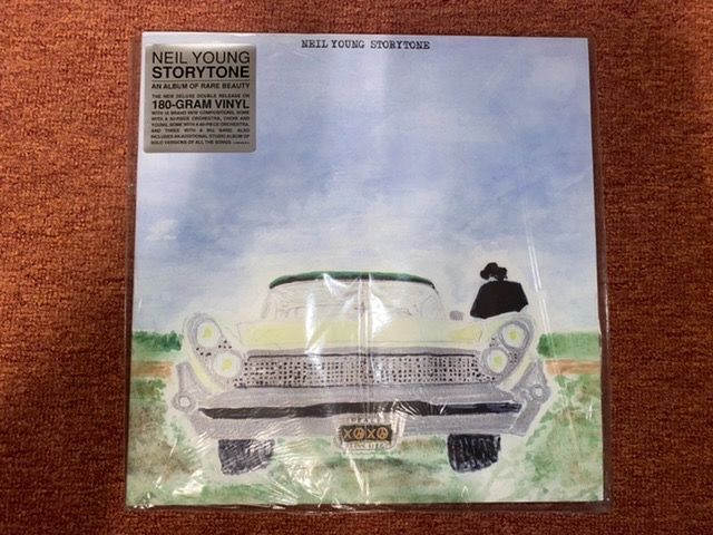 Neil Young - Storytone Deluxe Edition Textured Sleeve Collector`s Edition - 2xLP Album (double album) - 2014/2014