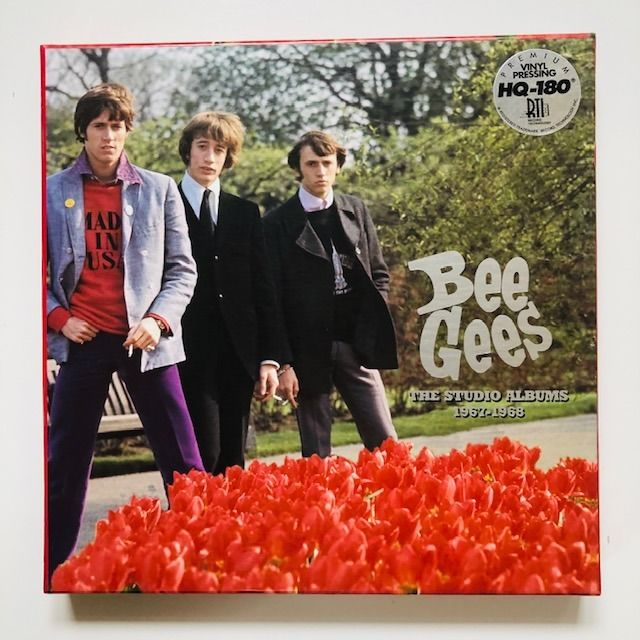 Bee Gees - The Studio Albums 1967-1968 [Limited Edition of 5000 Copies] - LP Boxset - 2007