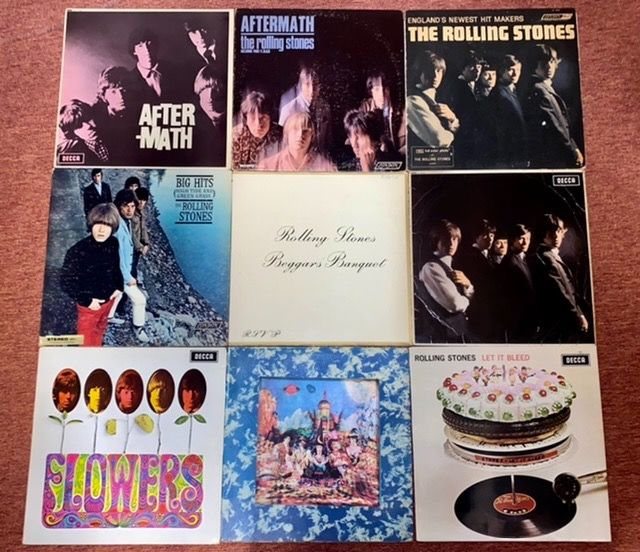 Rolling Stones - Lot Of 31 Albums - Multiple titles - LP's - 1964/2016