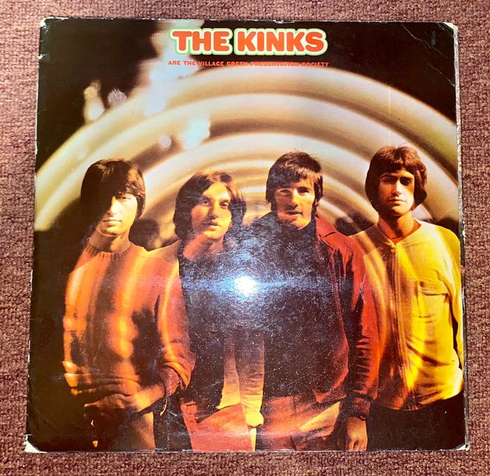 Kinks - The Kinks are the Village Green Preservation Society [Holland Pressing] - LP Album - 1968