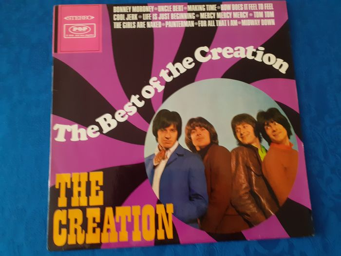 the Creation - the Best of the Creation [German Stereo Pressing] - LP Album - 1968