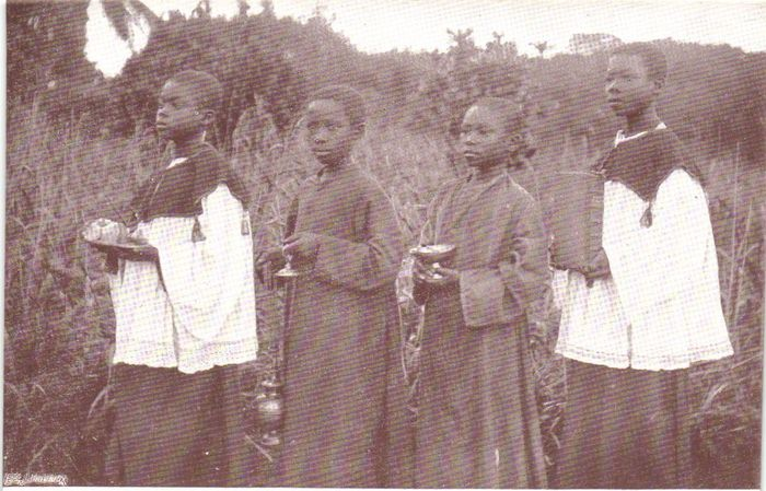 Belgian Congo - Various places - involving events, Education, Ethnic, Gospel. - Postcards (Collection of 77) - 1900-1950