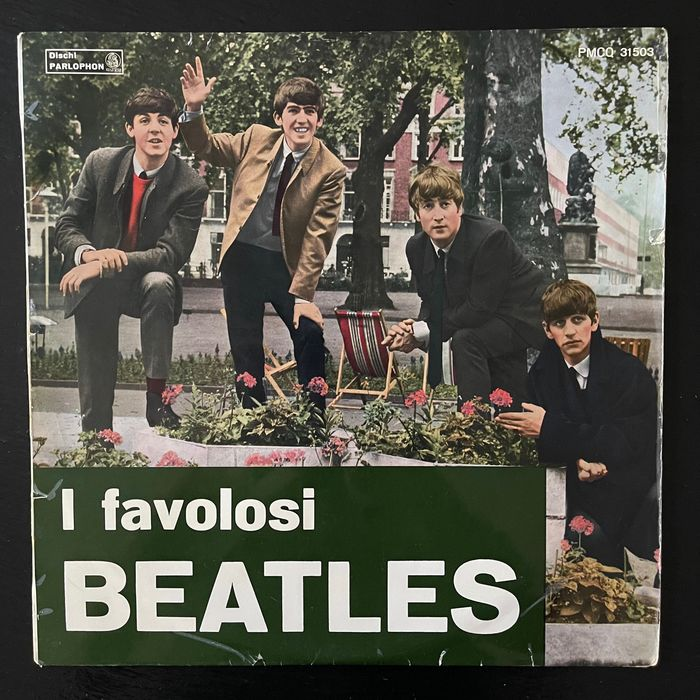 Beatles - I favolosi Beatles [Italian Silver and Black Label 2nd Mono Press of With The Beatles] - LP's - 1965/1965