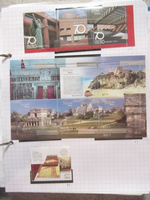 Mexico - Advanced collection of stamps