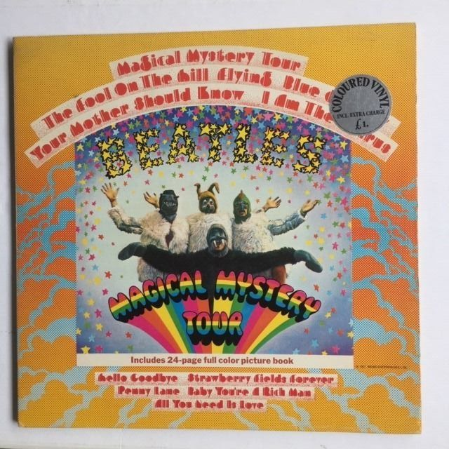 Beatles & Related - Magical Mystery Tour [24 page book and Yellow Vinyl ] - LP Album - 1978