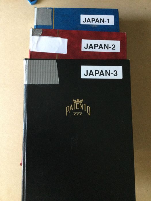 Japan 1876/2018 - Huge stock in three thick stock books