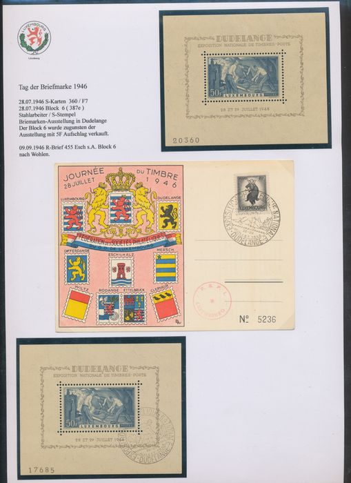 Luxemburg 1947/1953 - Top collection: three collections in one - Michel