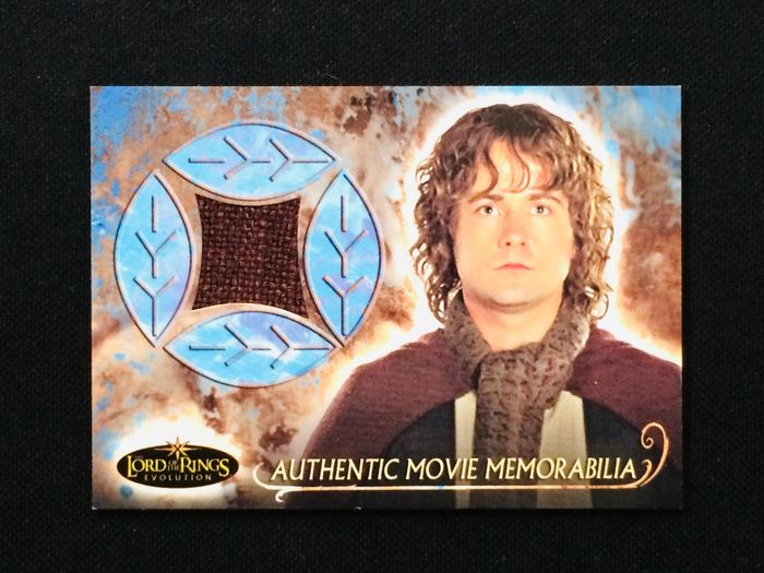 Upper Deck - Lord of the Rings - Pippin - Screen Worn Patch - Sammelkarte - Limited Edition - 2004