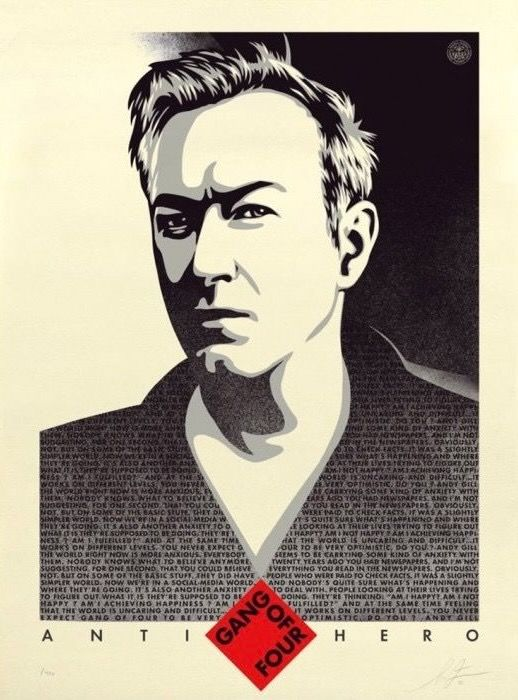 Shepard Fairey (OBEY) - Gang of Four US Edition