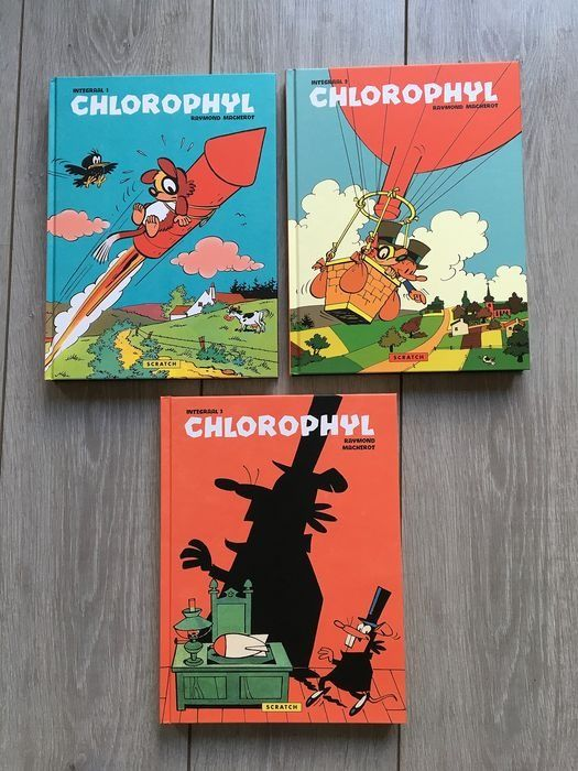 Chlorophyl Integraal - 1 t/m 3 - Hardcover - First edition - (2015/2018)