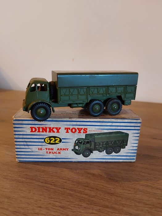 Dinky Toys - 1:43 - 622 Dinky toys 10 ton Foden army truck