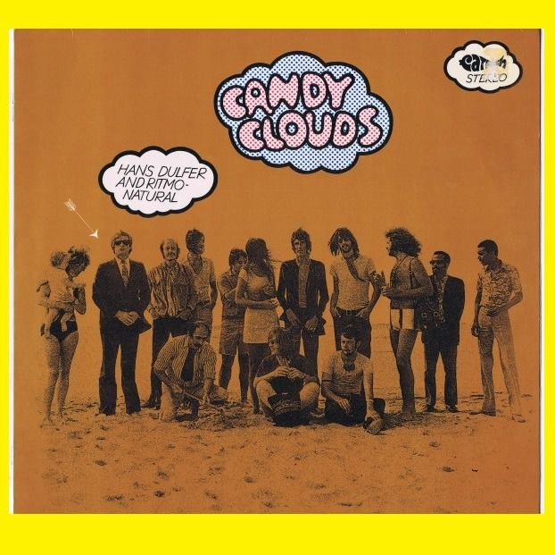 Hans Dulfer And Ritmo-Natural - Candy Clouds (Free Jazz, Fusion, Jazz-Rock) - LP Album - 1970/1970