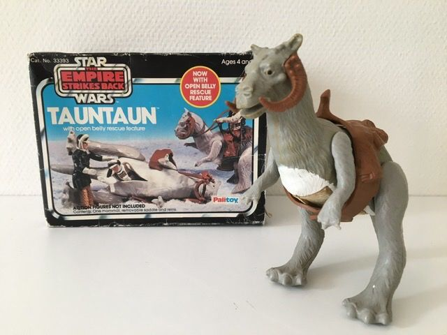 Star Wars Episode V: The Empire Strikes Back - Palitoy - Actiefiguur - vintage - TaunTaun with open belly - 1980