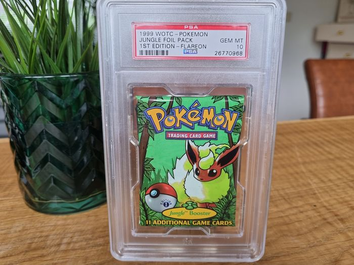 Wizards of The Coast - Booster Pack 1st Edition Jungle Booster Pack - Graded PSA 10 - 1999 - Wizards of the Coast - 1999
