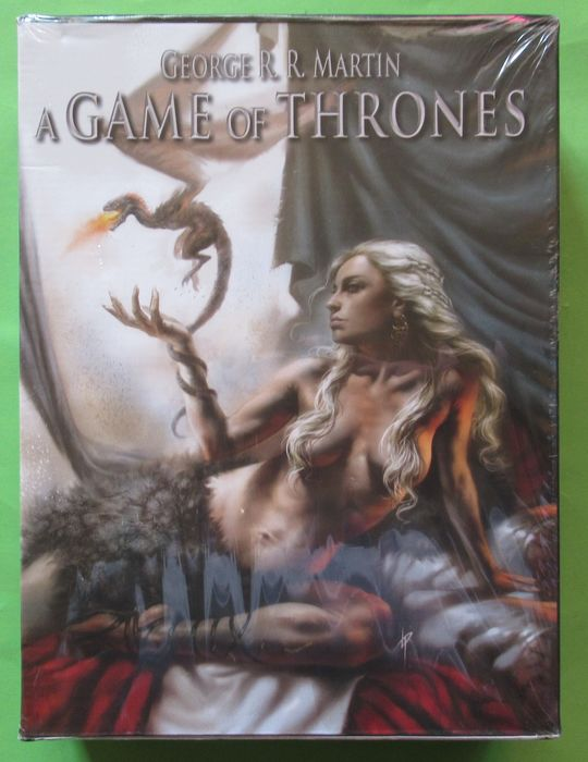 A Game of Thrones 1 t/m 12 - Complete serie in box - Broché - EO - (2013/2015)