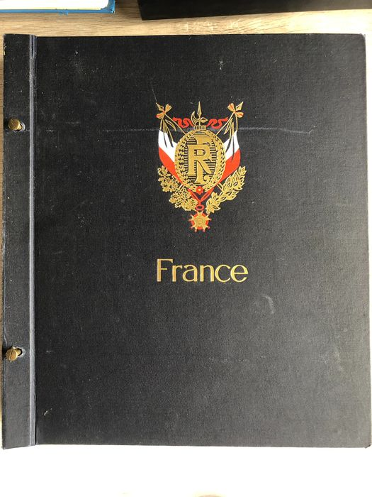 France - Collection in a DAVO album 1849-1967 - Yvert