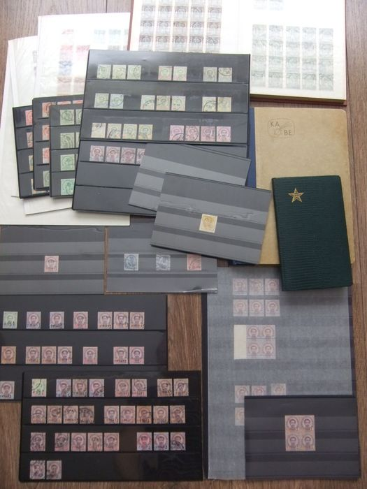 Thailand 1883/1939 - Siam - Large batch on many stock cards and in stock booklets