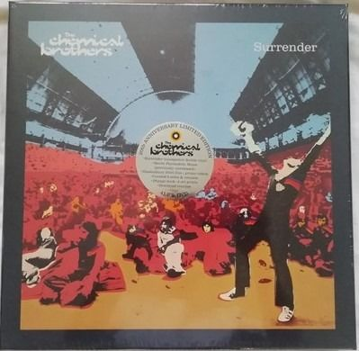 The Chemical Brothers - Surrender (20th Anniversary Limited Edition Box Set) - Boek, DVD, Gelimiteerde boxset, LP's - 2019/2019