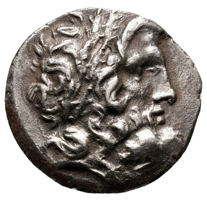 Thessalische Liga. AR Stater,  ca 196-146 BC. Magistrates Damothoinos and Philoxenos