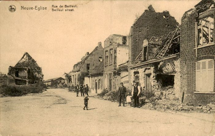 Belgium - old and very old village and city views - Postcards (Collection of 124) - 1900-1955