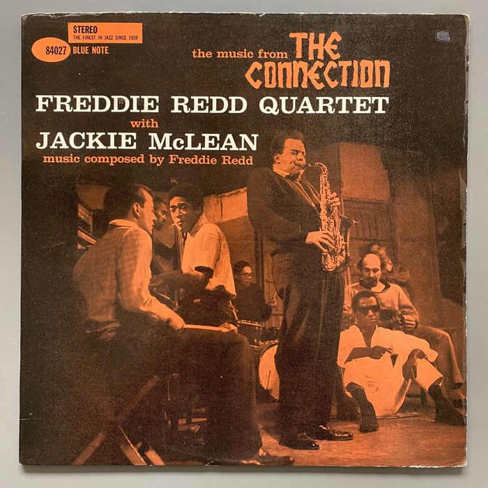 Freddie Redd Quartet with Jackie McLean - Music from the connection [U.S. Stereo Pressing] - LP Album - 1960