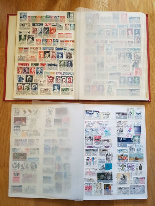 Frankreich 1852/2008 - Important and extensive collection in stockbook and on sheets, with stamps and interesting complete