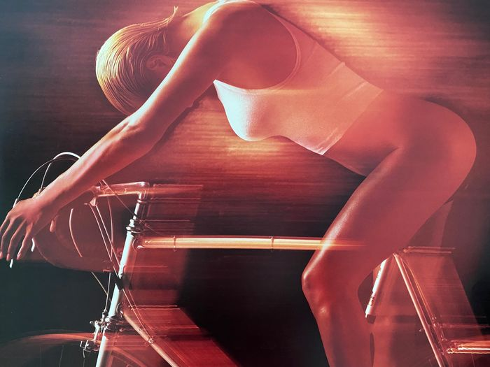 """Bob Reed / Kaz Chiba - (x3) Cycling sexy posters - Centurion  """"Built for speed"""" / Cycling I et II - 1984"""
