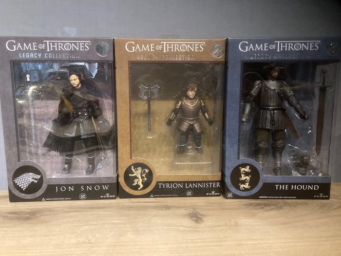 Game of Thrones - Lot of 6 - see images and description - Funko - Statuetta/e