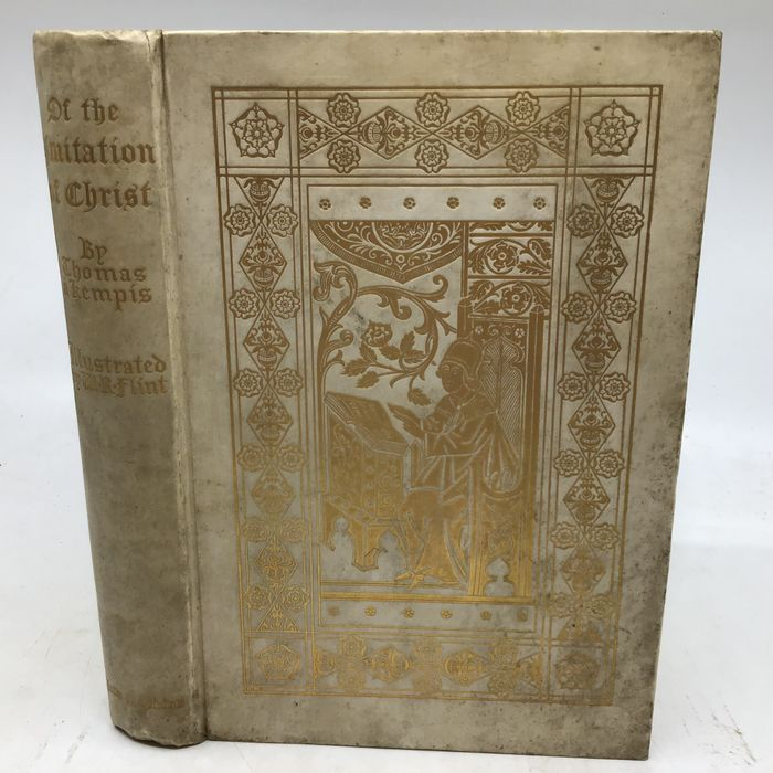 William Russell Flint, Thomas A Kempis - Of the Imitation of Christ (deluxe binding with gift inscription by W. Russell Flint) - 1908