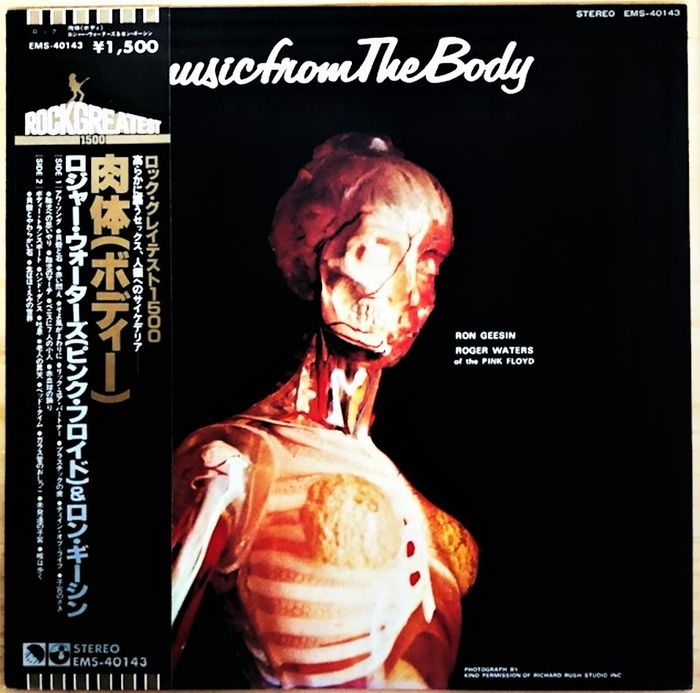 Pink Floyd - Ron Geesin & Roger Waters – Music From The Body [Japanese Pressing] - LP Album - 1979