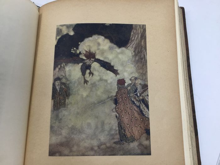 William Shakespeare / Edmund Dulac (ill) - L'Ile Enchantee. Conte d'apres Shakespeare (limited edition signed by Dulac) - 1908
