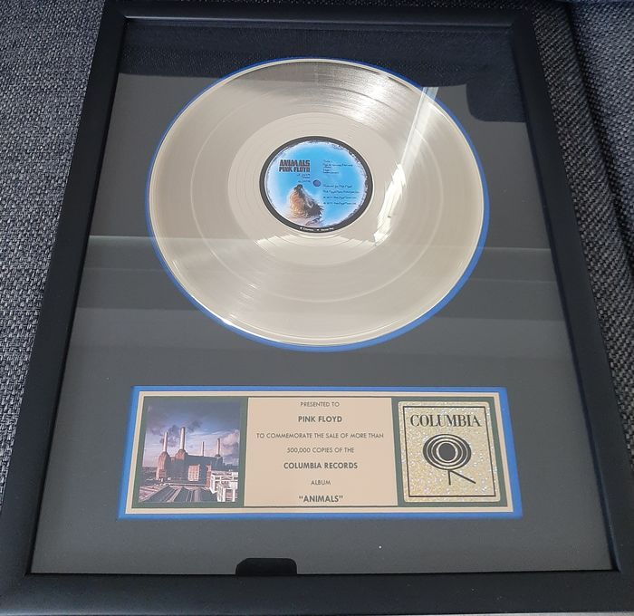 Pink Floyd - Animals, Presented to Pink Floyd - Official In-House award - 1977/1977