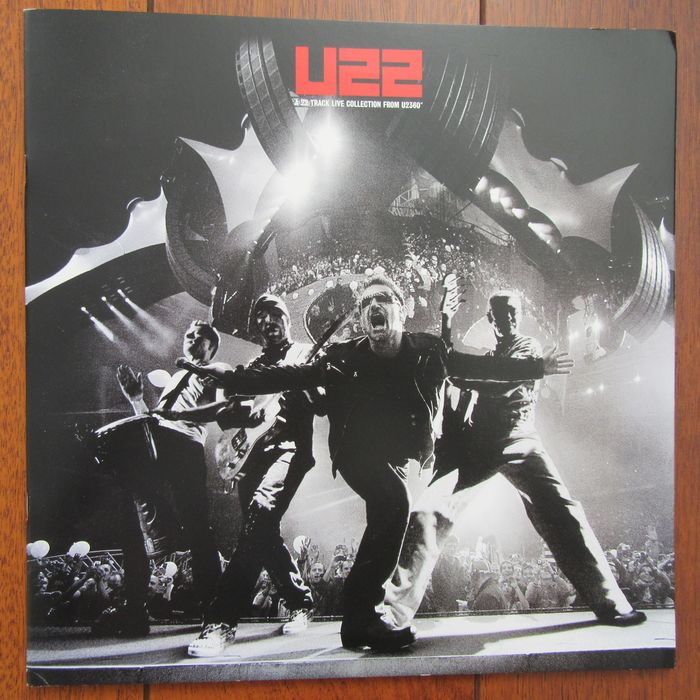 U2 - U22: A 22 Track Live Collection From U2360° - Book, CD's, Limited edition - 2012/2012