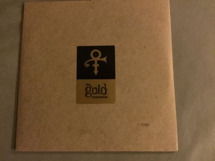 The Artist (Formerly Known As Prince) - The gold  experience (Gold coloured promo pressing) - 2xLP Album (double album) - 1995/1995