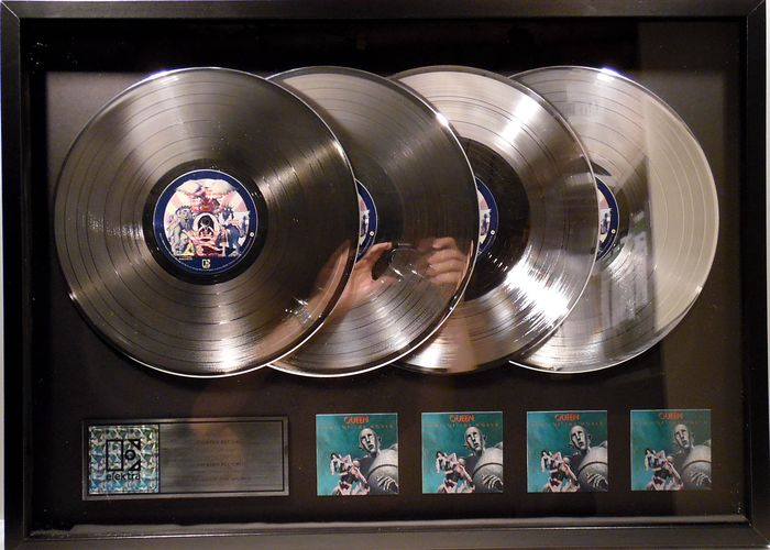 """Queen - News of the World """" official in-house award"""" - 2002/2002"""