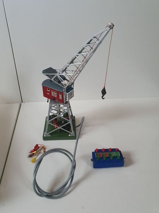 Märklin H0 - 7051 - Attachments - Electric crane with hook and control box