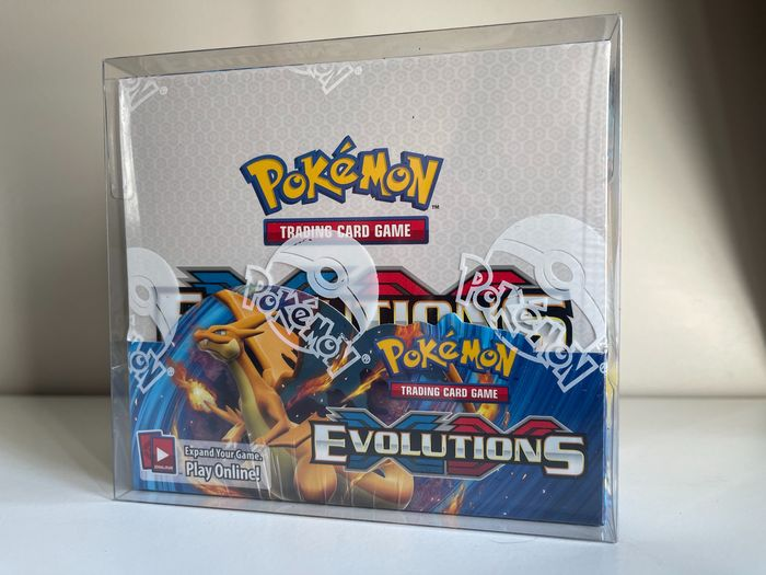 Pokemon - Evolutions Booster Box Factory Sealed + Protective case MINT X & Y - 2016