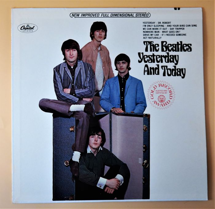 Beatles - Yesterday And Today [U.S. Military Edition, Winchester Pressing] - LP Album - 1973
