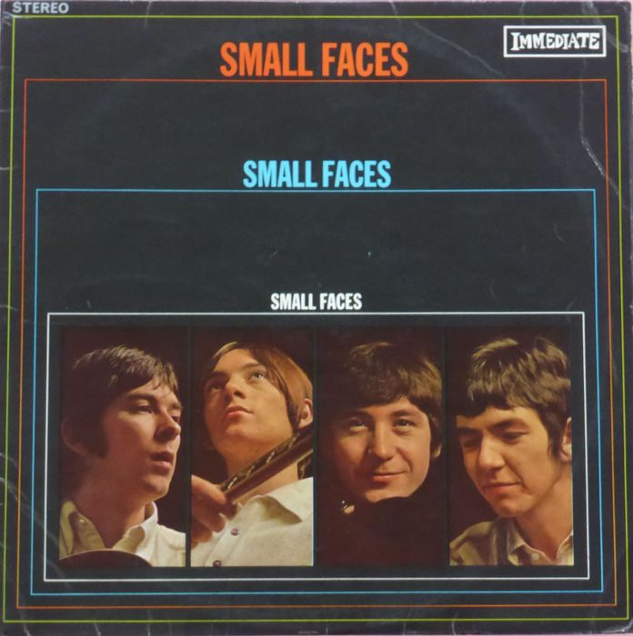 Small Faces - Small Faces, first press UK stereo copy - LP Album - 1967/1967