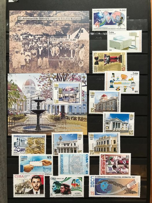 Cuba 2000/2018 - Many topical stamps