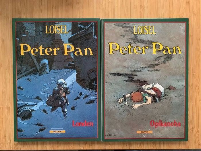 Peter Pan 1 t/m 6 - Compleet - Hardcover - First edition - (1991/2005)