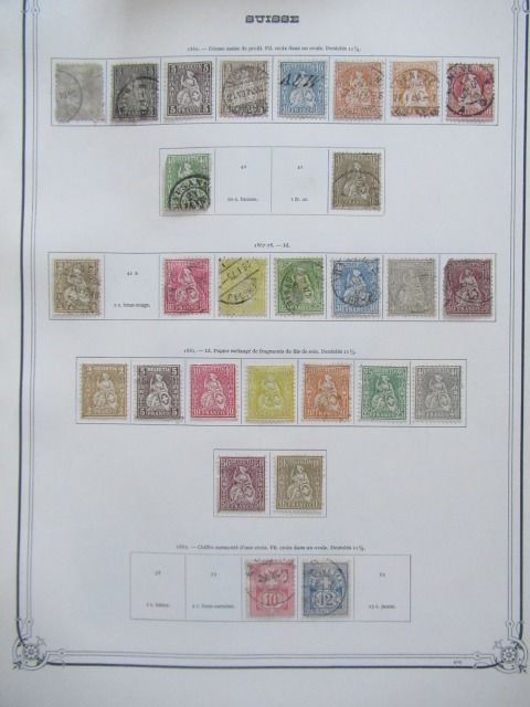 Switzerland 1854/1975 - Collection of stamps.