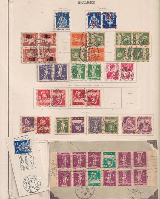 Europe 1910/1960 - collections from five european countries