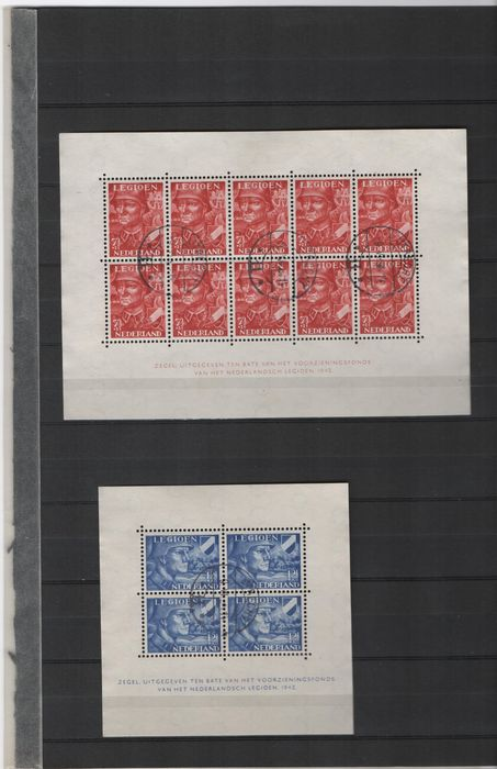 Niederlande 1942/2001 - Collection of blocks and mini sheets