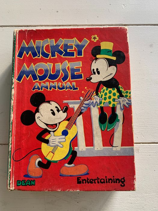 Walt Disney  Dean & Son - Mickey Mouse Anual - Hardcover - First edition - (1935)