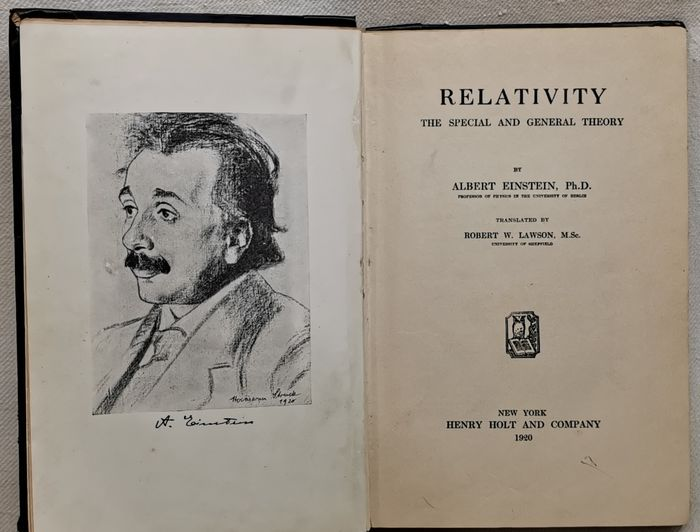 Albert Einstein, Ph.D. - Relativity. The Special and General Theory - 1920